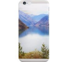 Seton Lake, British Columbia, Panorama iPhone Case/Skin