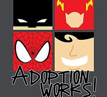 Adoption Works: Adopted Superheroes by benspromise