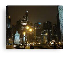 City Strength Canvas Print