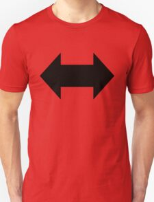 Support Arrows Blk Unisex T-Shirt