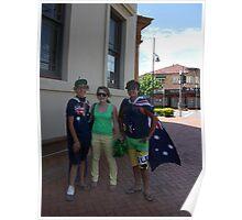 Australia Day Taree I Poster