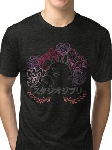 Studio Ghibli~ Totoro Tri-blend T-Shirt