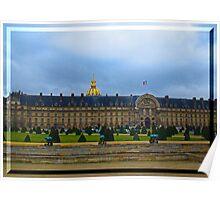 Les Invalides, Paris Poster