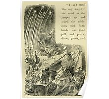 Through the Looking Glass Lewis Carroll art John Tenniel 1872 0232 I Can't Stand it Any Longer Poster