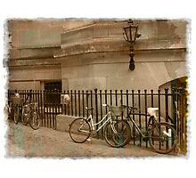 Cambridge Bicycles Photographic Print
