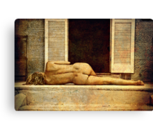 undamaged grace Canvas Print