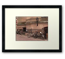Cambridge Bicycles Framed Print