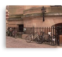 Cambridge Bicycles Canvas Print