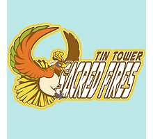 Tin Tower Sacred Fires: Ho-oh Sports Logo Photographic Print