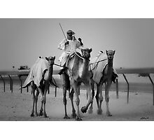 3 Camels Photographic Print