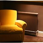 Yellow chair, Dublin by voloro