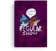 Regular Show (V.2) Canvas Print