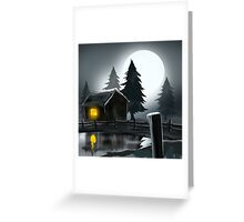 fantacy background Greeting Card