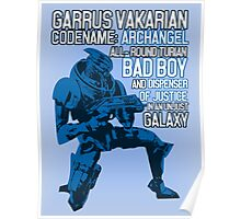 All-round Turian Bad Boy Poster