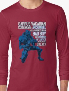 All-round Turian Bad Boy Long Sleeve T-Shirt