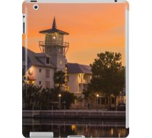 Orange Sunset over Celebration Florida iPad Case/Skin