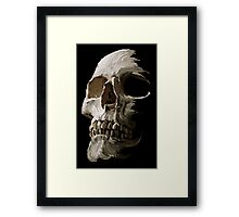 Fading in the Shadows Framed Print