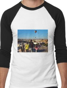 Kids & Balloons Men's Baseball ¾ T-Shirt
