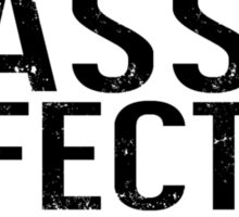 Mass Effect 3 Ruined My Life [White] Sticker