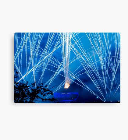 Blue Magic - Illuminations Reflections of Earth Canvas Print