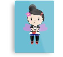Heart Broken Chibi Fairy Metal Print