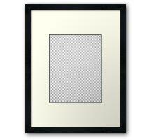 null layer Framed Print