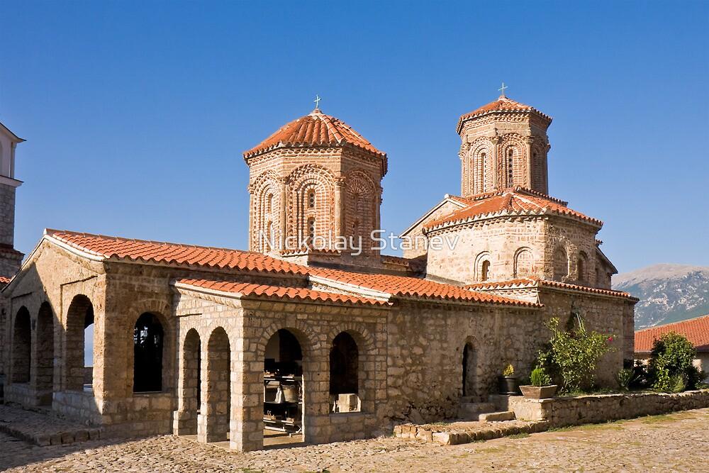 Sveti Naum Monastery by Nickolay Stanev