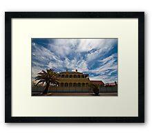 St Kilda Streetscape Framed Print