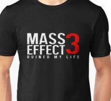 Mass Effect 3 Ruined My Life [Black] Unisex T-Shirt