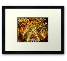 We've Got Some Wishes To Grant! - Wishes Fireworks Framed Print