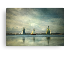 Sailing Home Canvas Print