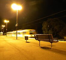 Midnight Train by photocatcher