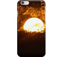 Light in the trees iPhone Case/Skin