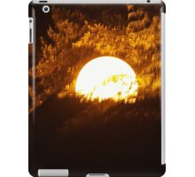 Light in the trees iPad Case/Skin