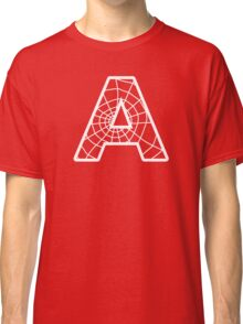 Spiderman A letter Classic T-Shirt