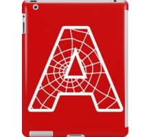 Spiderman A letter iPad Case/Skin