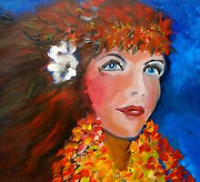 Hula - Sweet Blue Eyed Leilani by jennyleeandjim