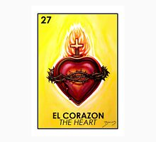 El Corazon - The Heart - Loteria Unisex T-Shirt