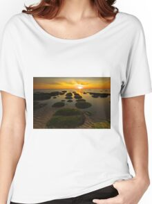 Sunset Hunstanton Women's Relaxed Fit T-Shirt