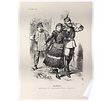 Cartoons by Sir John Tenniel selected from the pages of Punch 1901 0074 Snubbed Poster
