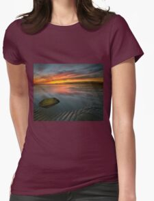 Allonby sunset Womens Fitted T-Shirt