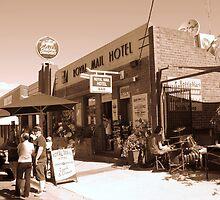 `royal mail pub on a balmy australia day holiday - Birragurra` by Deb Gibbons