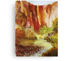 Towering Rocks Canvas Print