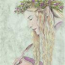 Fairy Scribe by morgansartworld