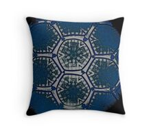 Mandala Modernista Throw Pillow