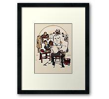 Doctor Rockwell Framed Print