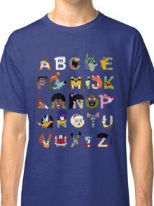 Child of the 70s Alphabet Classic T-Shirt
