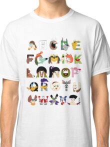 Child of the 70s Alphabet Classic T-Shirt