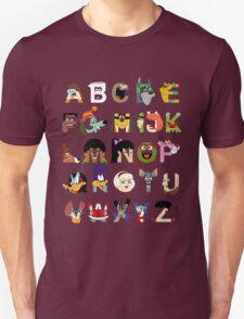 Child of the 70s Alphabet T-Shirt
