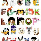 Child of the 70s Alphabet by Mike Boon